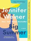 Big Summer A Novel.